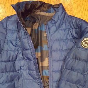 Gap Boys Size 12 Reversible Winter Jacket